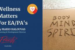 Wellness Matters for EAPA's